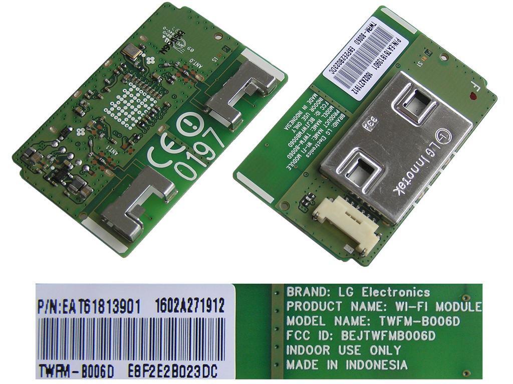 LCD LED modul WiFi LG EAT61813901 / LG - network-WIFI module TWFM-B006D