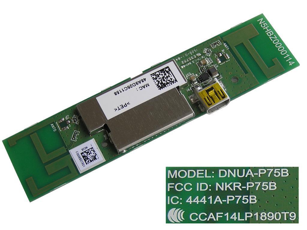 LCD LED modul WiFi Panasonic DNUA-P75B / Panasonic network-WIFI module N5HBZ0000114
