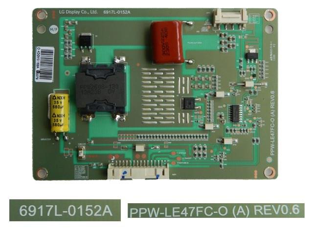 LCD LED modul invertor 6917L-0152A / LED inverter board PPW-LE47FC-O REV0.6