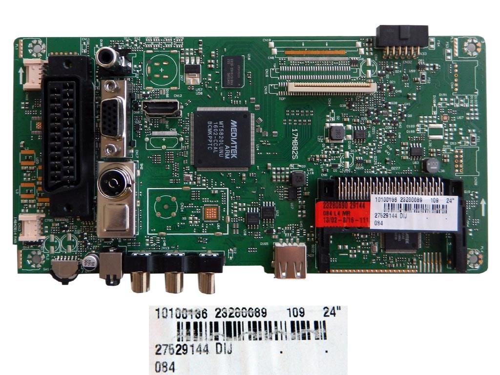 LCD LED modul základní deska 23280689 / assy main board 17MB82S VESTEL