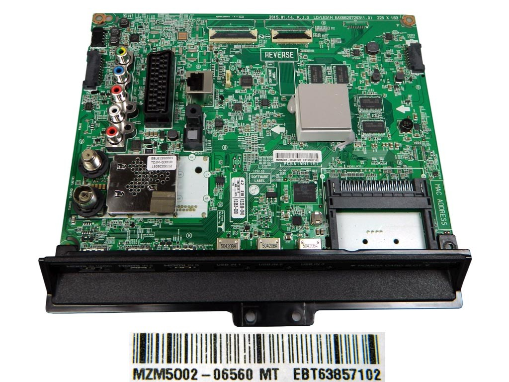 LCD LED modul základní deska EBT63857102 / assy main board EAX66207203