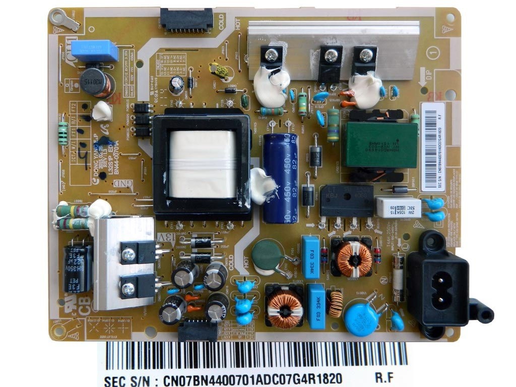 LCD LED modul zdroj BN44-00701A / SMPS power supply board BN4400701A L32S1P ED