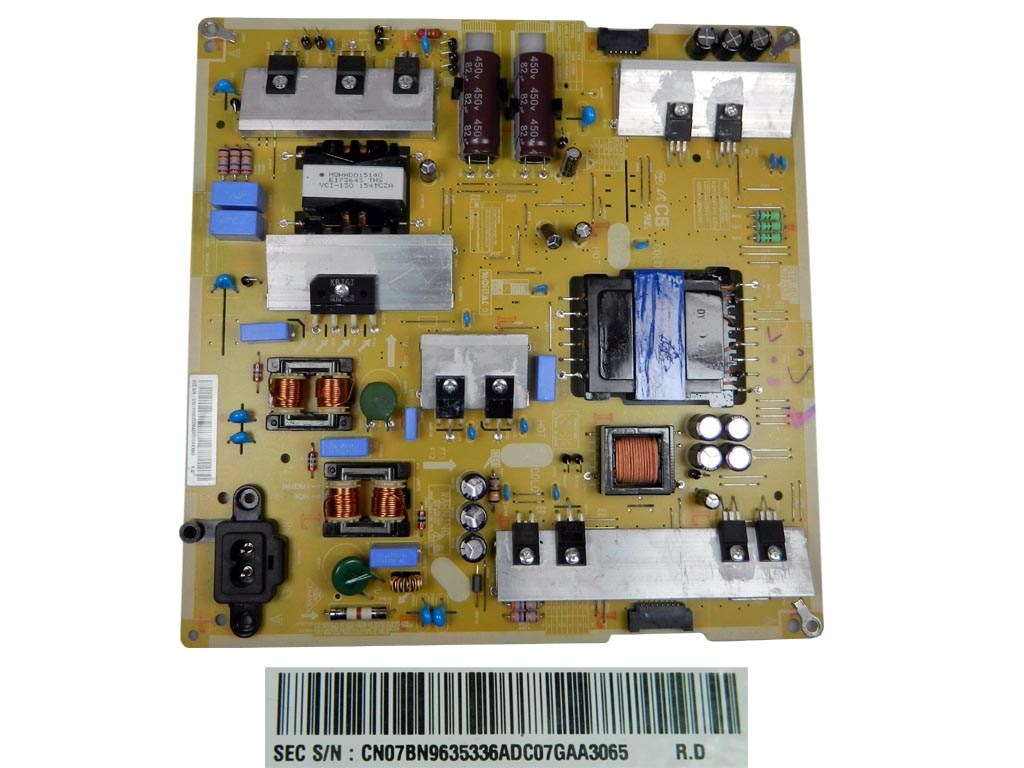 LCD LED modul zdroj BN96-35336A / SMPS power supply board BN9635336A P-LED L55S5_FDYV L55S