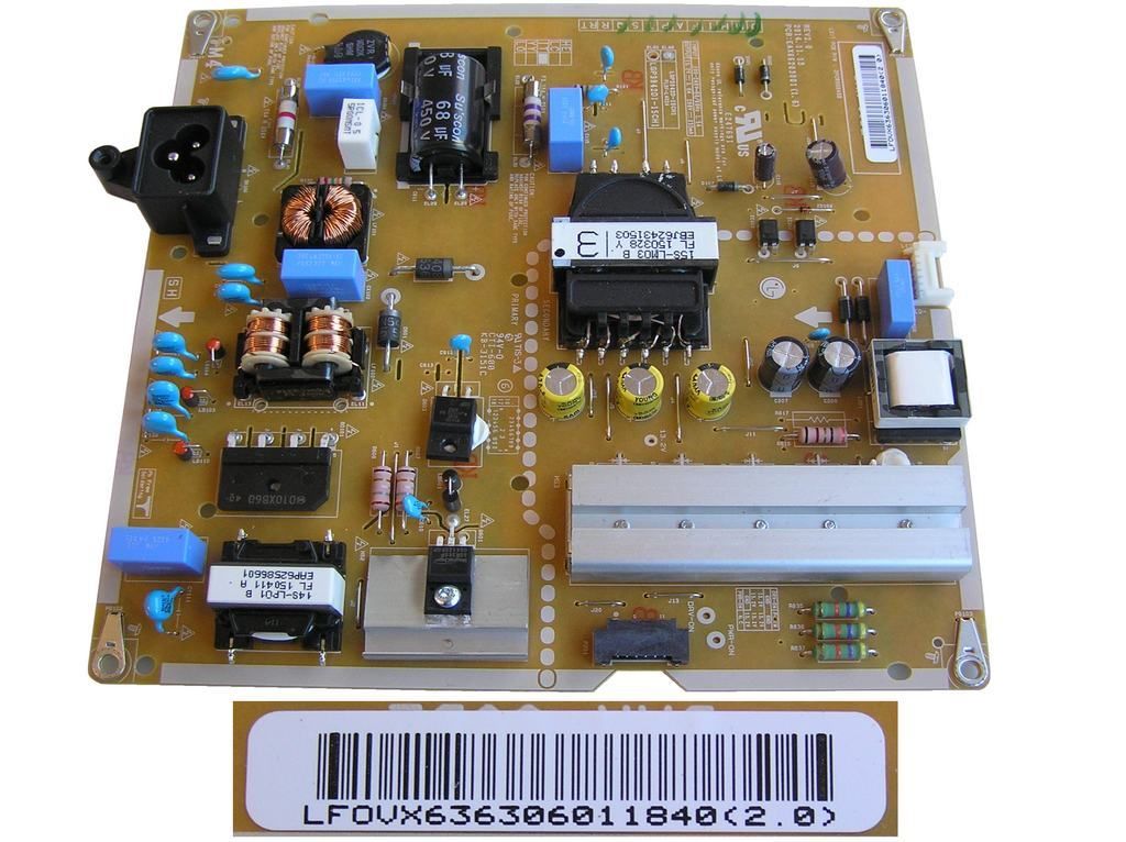 LCD LED modul zdroj EAY63630601 / SMPS power supply board LGP3942D-15CH1 / EAX66203001