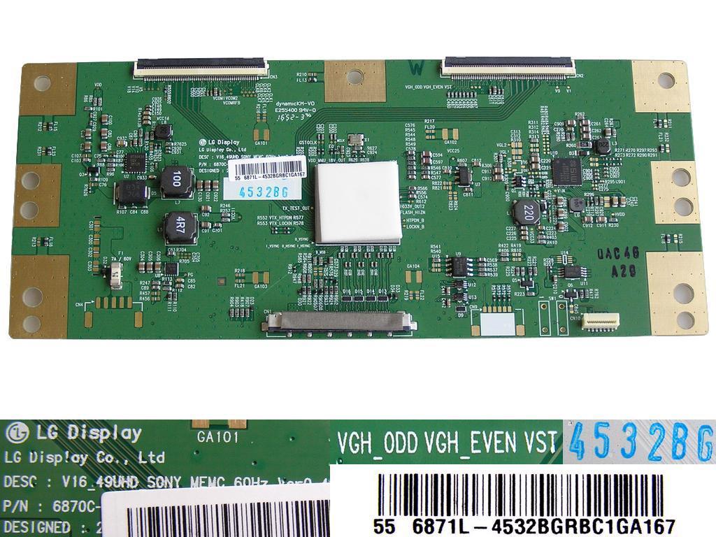 LCD držák CCFL trubic pravý 18 lamp invertor BOARD VIT7105380