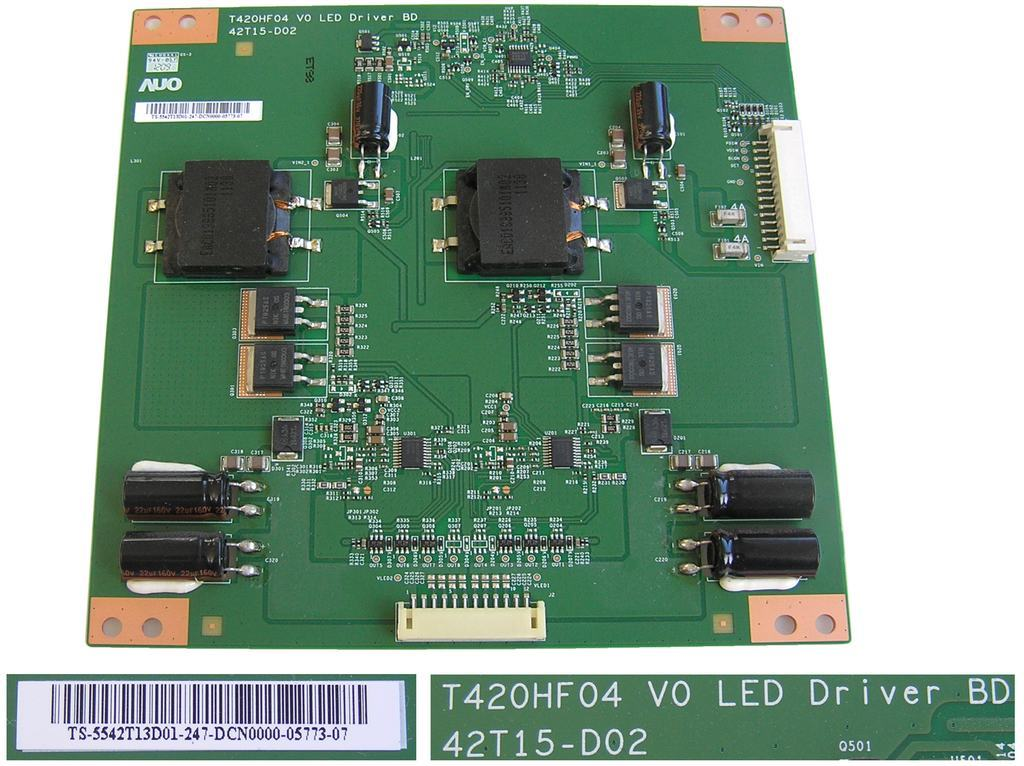 LCD modul LED driveru T420HF04 V0 / LED inverter board T420HF04 / TS-5542T13D01