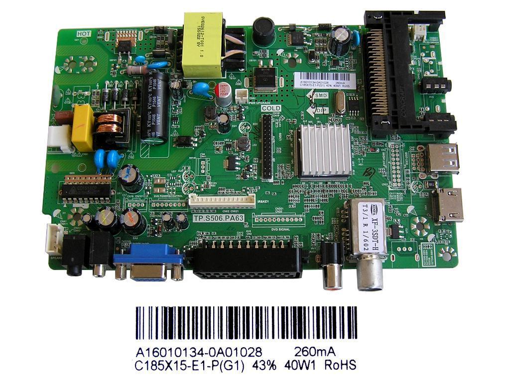 LCD modul T-Con 6870C-0450A / T-Con BOARD 6870C0450A / RT 42/47/55 FHD TM240 VER 0.1
