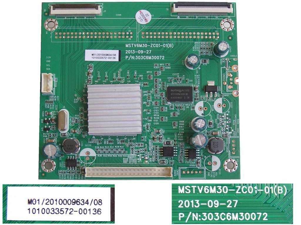 LCD modul T-con 1010033572-00136 / T-CON BOARD MSTV6M30-ZC01-01B