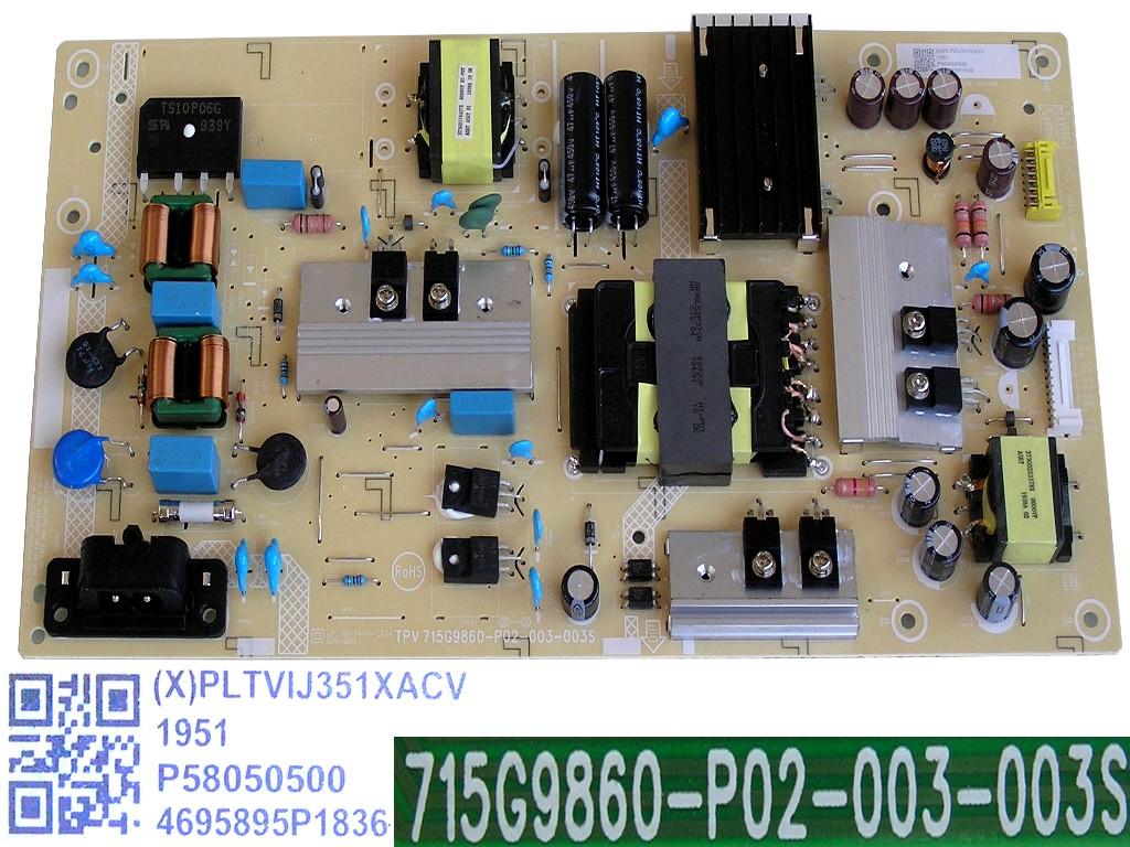 LCD modul měnič INV32N12A / inverter board INV32N12A / BN8101786A / HS320WV12