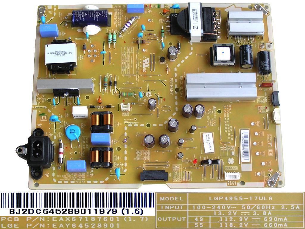 LCD modul měnič JLS-03-32EI / PB-071094E / INVERTER BOARD JLS0332EI