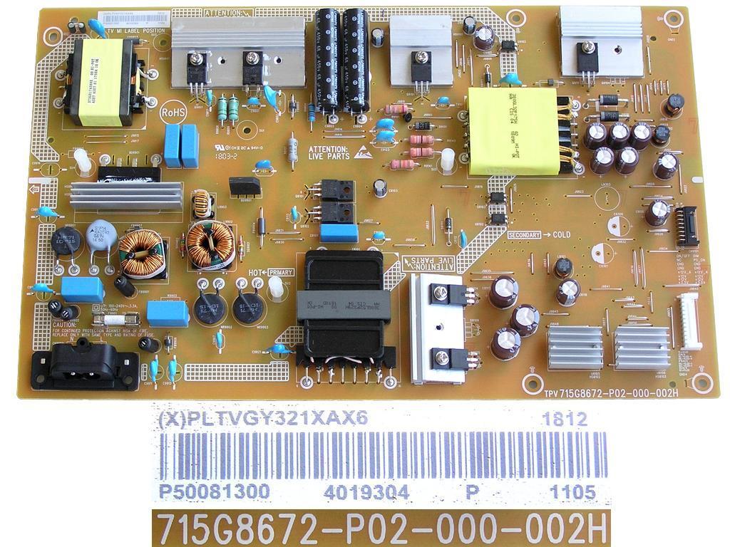 LCD modul měniče TOKO 37-54698136 / Inverter board 250000003601