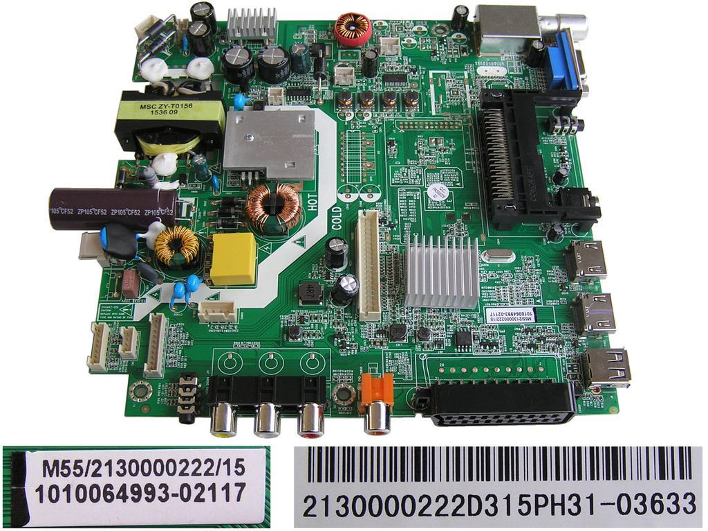 LCD modul základní deska Changhong LED32D2080HC / Main board 1010064993