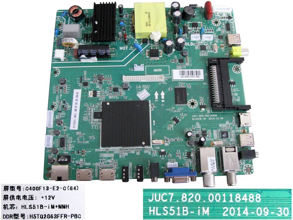 LCD modul základní deska Changhong LED40D1100ISX / Main board HLS51B-iM / C400F13-E2-C(G41)