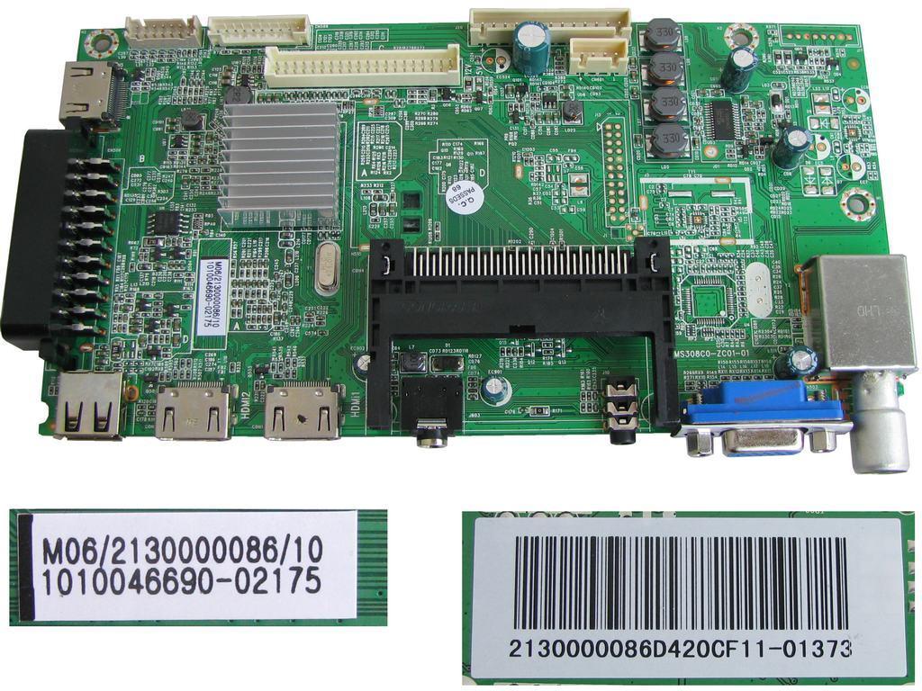 LCD modul základní deska Changhong LED42D2080H / Main board 1010046690
