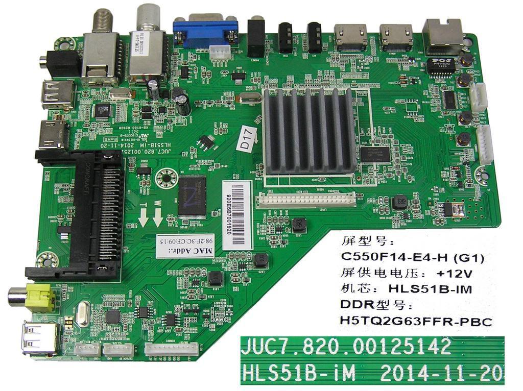LCD modul základní deska Changhong LED55D2200ST2 / main board C550F14-E6-H(G2)