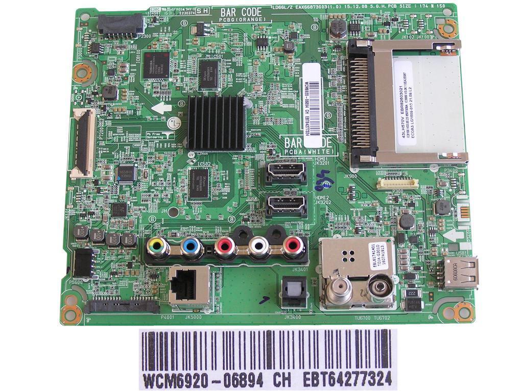 LCD modul základní deska EBR43398502 / main board EBR43398502