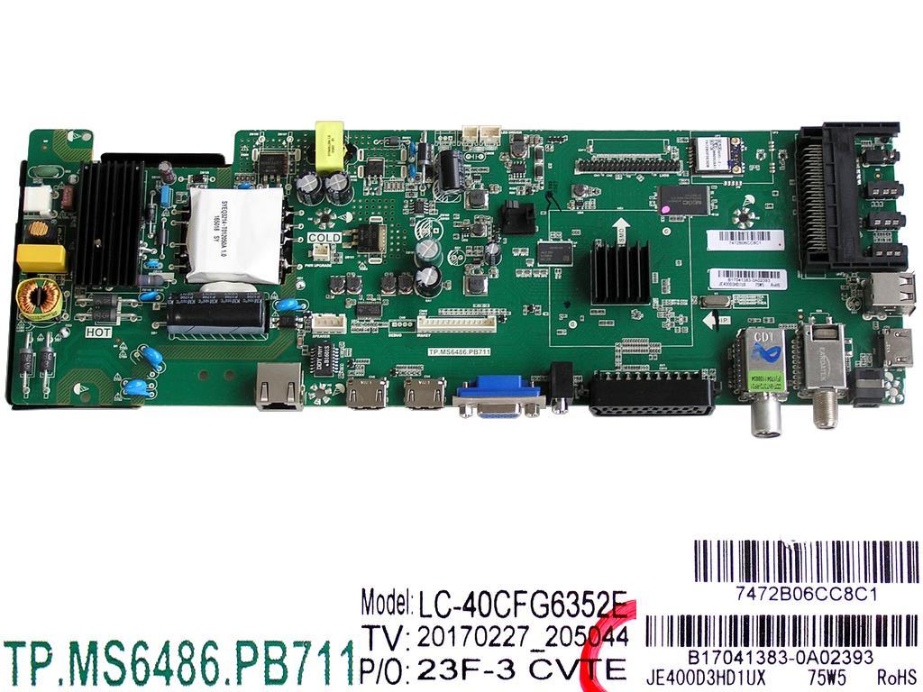 LCD modul základní deska EBR76578957 / Mainboard EBR76578957