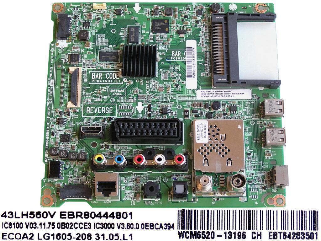 LCD modul základní deska EBU32591901 / main board EBU32591901 / 68709M0348F/2