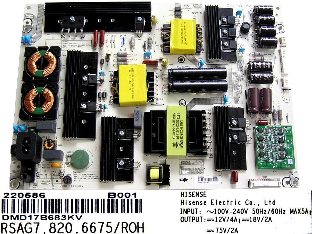 LCD modul základní deska / Main board Vestel 20503967