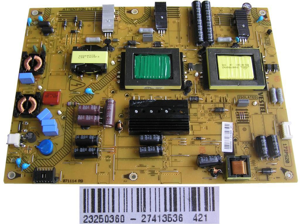 LCD modul zdroj 17IPS20 /23250360 / SMPS inverter board Panasonic 23250360