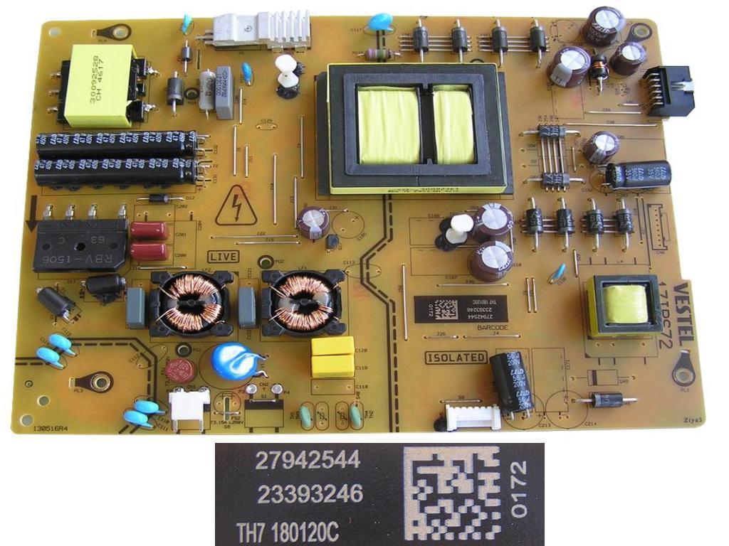 LCD modul zdroj 715G2892-P01-014-001S / SMPS BOARD A921HQA7 - 715G2892