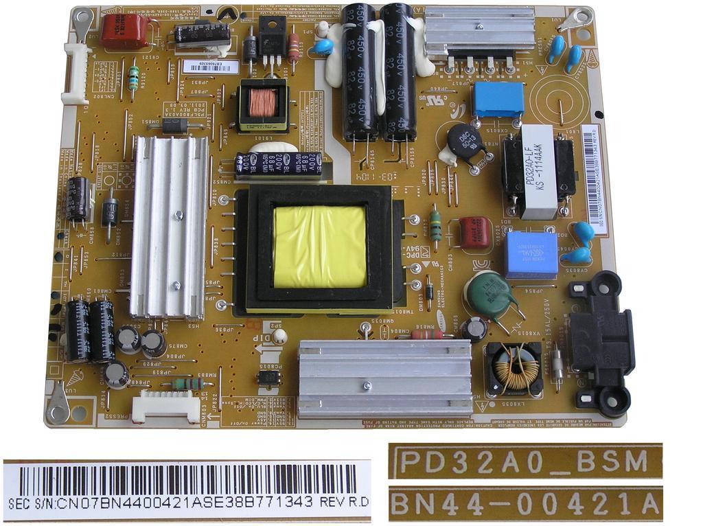 LCD modul zdroj BN44-00421A / SMPS BOARD BN4400421A / PD32AD-BSM