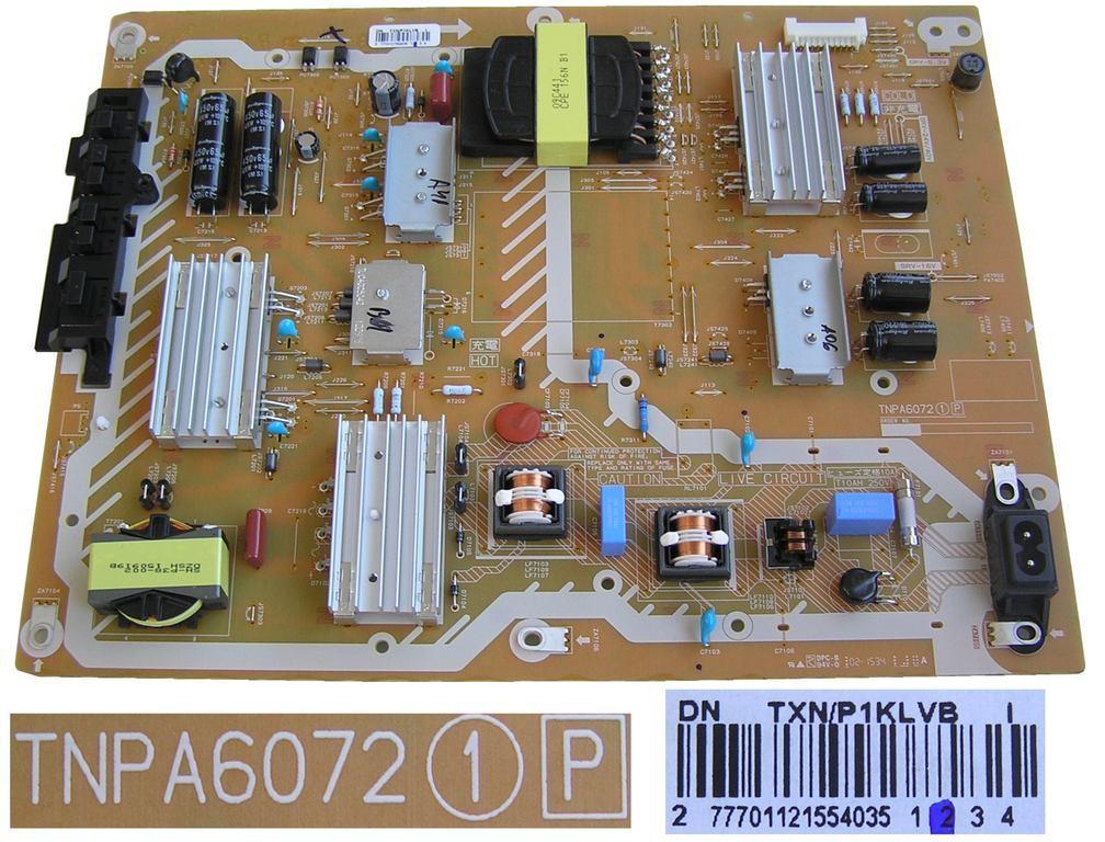 LCD modul zdroj TNPA6072 / P BOARD ASSY (SMPS) TNPA6072 TXN/P1KLVB