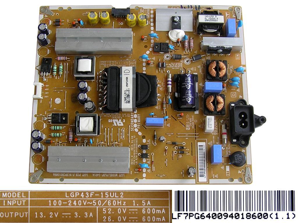 LCD modul zdroj a inverter BN4400284A / BN4400264C/ SMPS inverter board BN44-00284A / BN4400264C