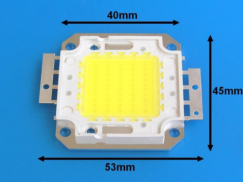 LED ČIP30W / LED dioda COB 30W / LEDCOB30W / LED CHIP 30W