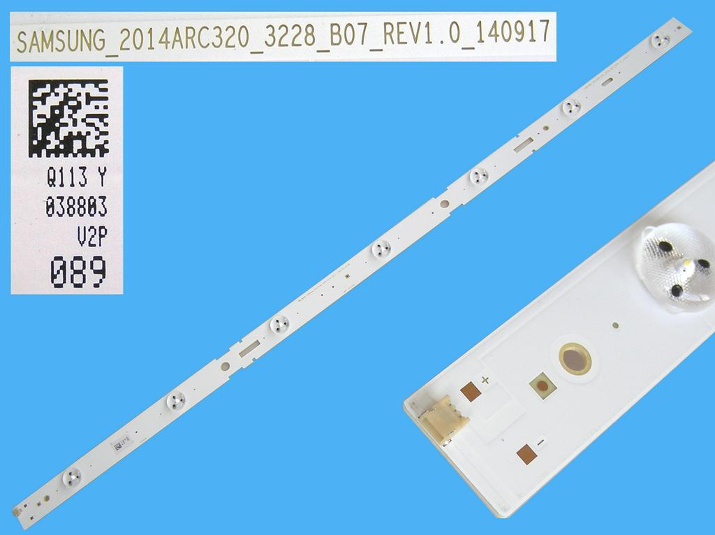 LED podsvit 625mm, 7LED / DLED Backlight 625mm - 7 D-LED, Grundig 759551878400 / NTA60600-AA / ARC320_3228