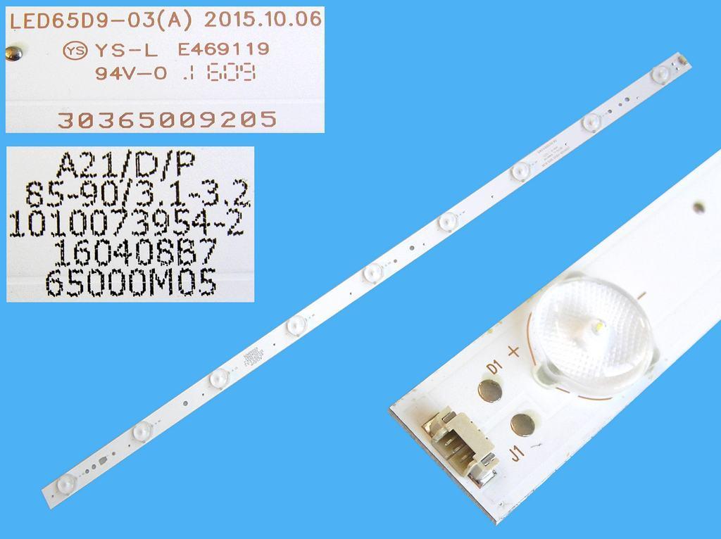 LED podsvit 640mm, 9LED / LED Backlight 640mm - 9DLED, LED65D9-03 / 30365009205