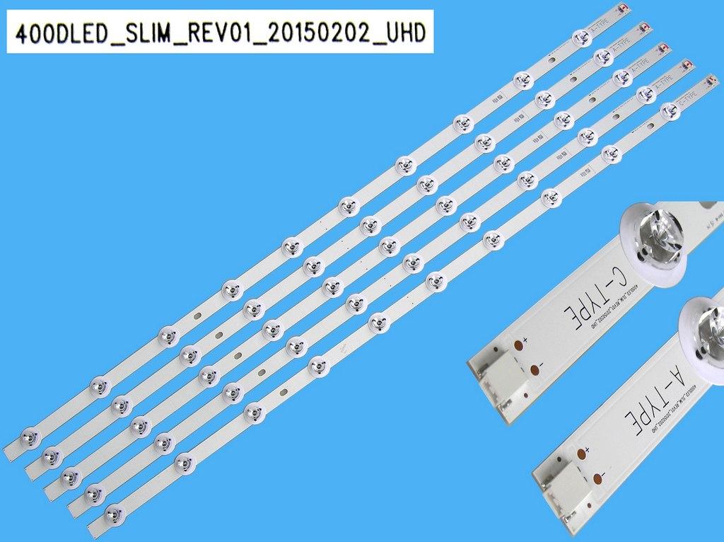 LED podsvit 790mm, 10LED / DLED Backlight 790mm - 10 D-LED, 30090136