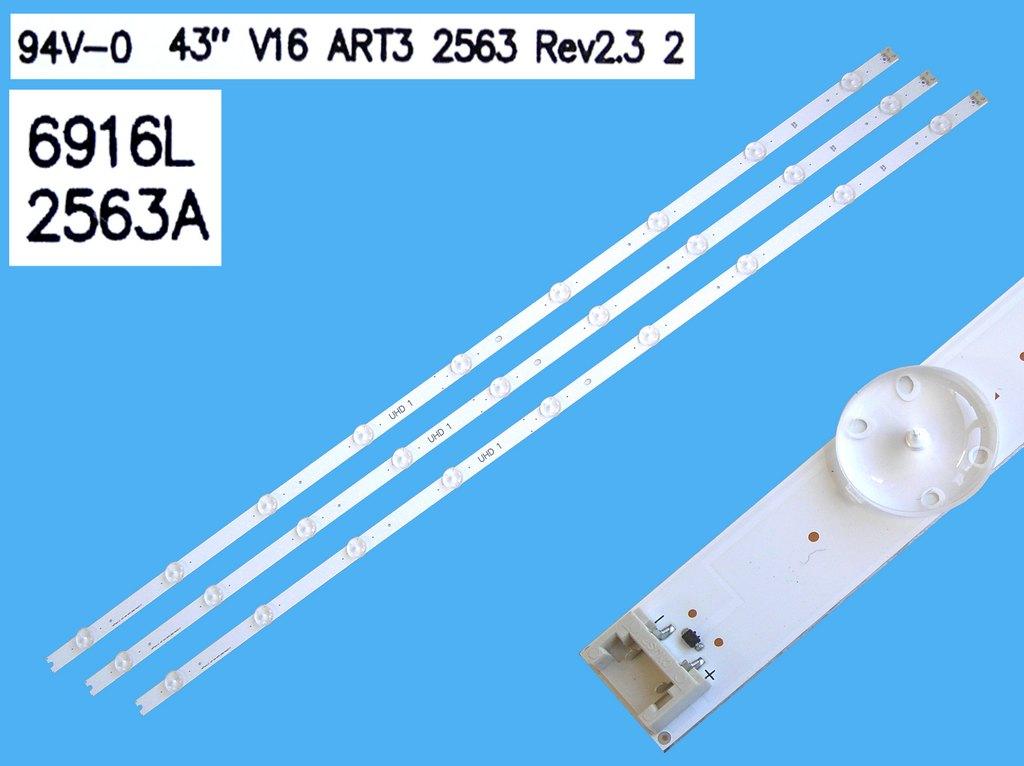 LED podsvit sada LG AGF78400801 celkem 12 pásků / DLED TOTAL ARRAY AGF78400801