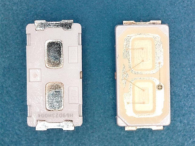 LED podsvit samostatná dioda 6V 6030 0,5W LG