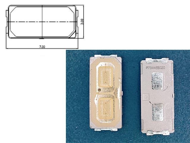 LED podsvit samostatná dioda 6V 7030 LG Innotek