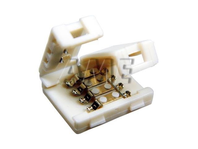LED spojka nepájivá pro RGB pásky 5050 pro 30 a 60 LED / m o šířce 10mm