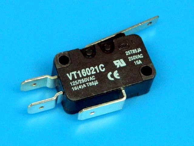 MW MS300 Mikrospínač do mikrovlnné trouby s páčkou VT16021C