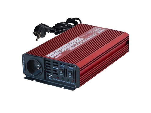 Měnič napětí z 12V / 230V SP300 do auta, karavanu atd.