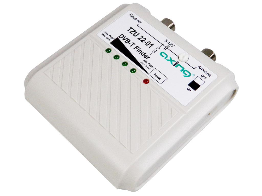Měřicí přístroj - měřič intenzity DVB-T signálu Axing TZU 22-01