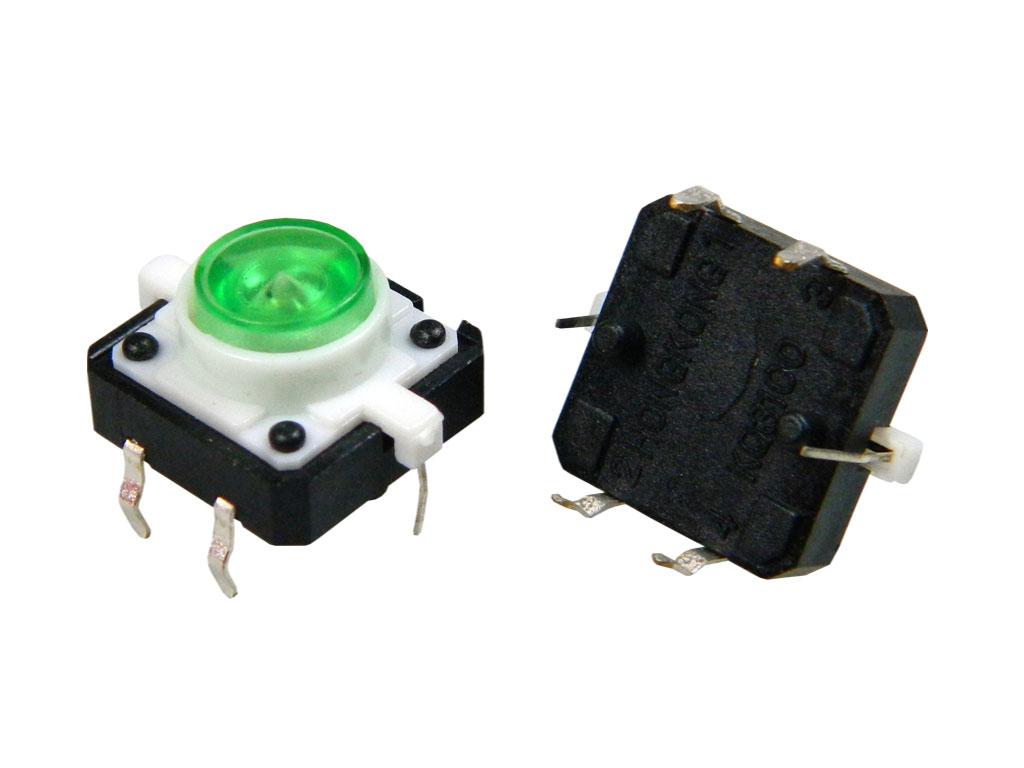 Mikrospínač do plošného spoje TACT-24N-F-IG