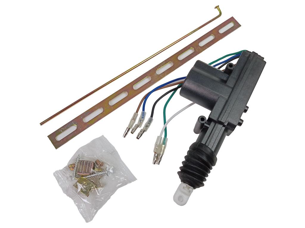 Motorek pro centrální zamykání univerzální (servo) - 5 vodičů