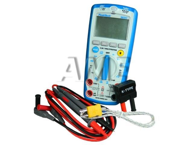Multimetr P3690 PeakTech 5 v1 - Digitální měřící přístroj
