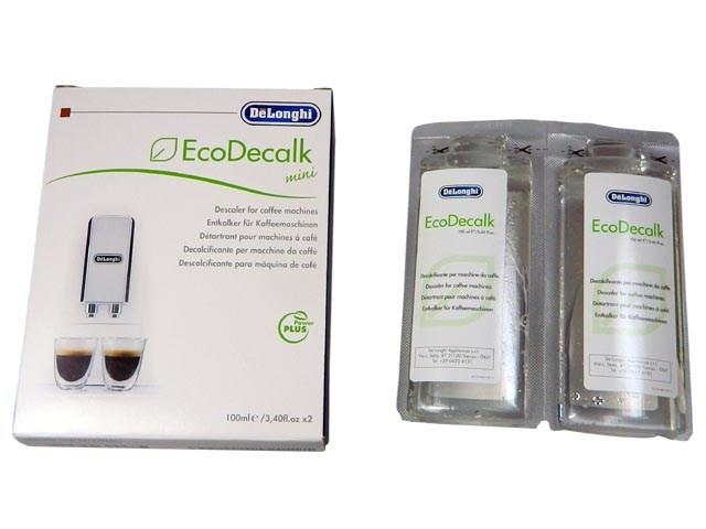 Odvápňovač - odstraňovač vodního kamene pro kávovary ECODECALK MINI 2x100ml