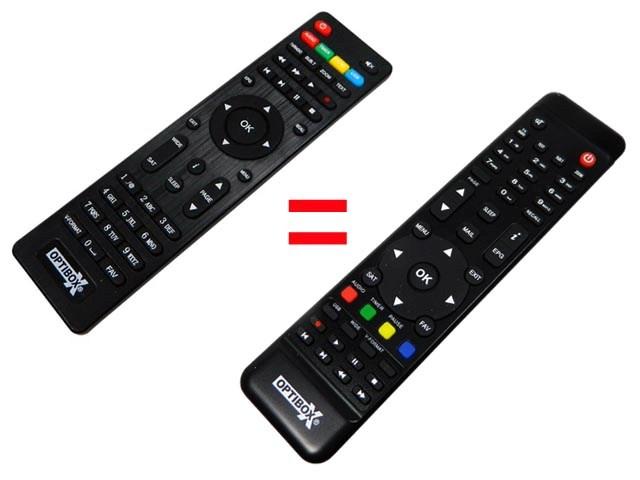 Optibox miniZebra HD Dálková ovladač originální
