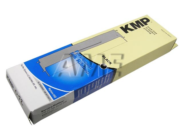 Páska do jehličkové tiskárny EPSON černá 633/635 0633,0501 NYLON HD KMP