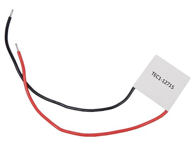 Peltierův termoelektrický článek 135W TEC1-12715 / chladící článek 12V/135W TEC1-12715