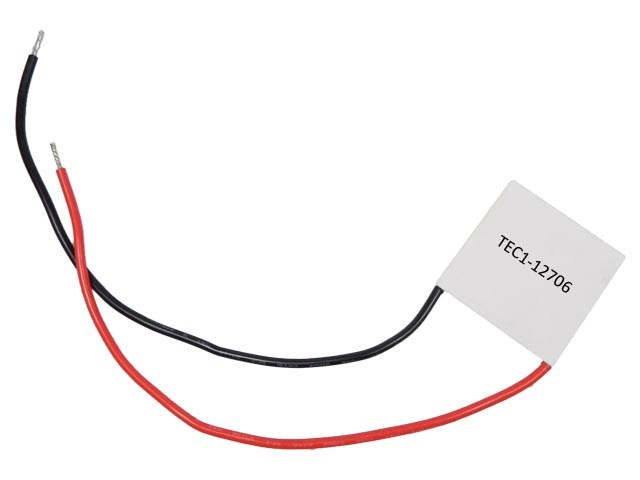 Peltierův termoelektrický článek 50W TEC1-12706 / chladící článek 12V/50W TEC1-12706 / TE610