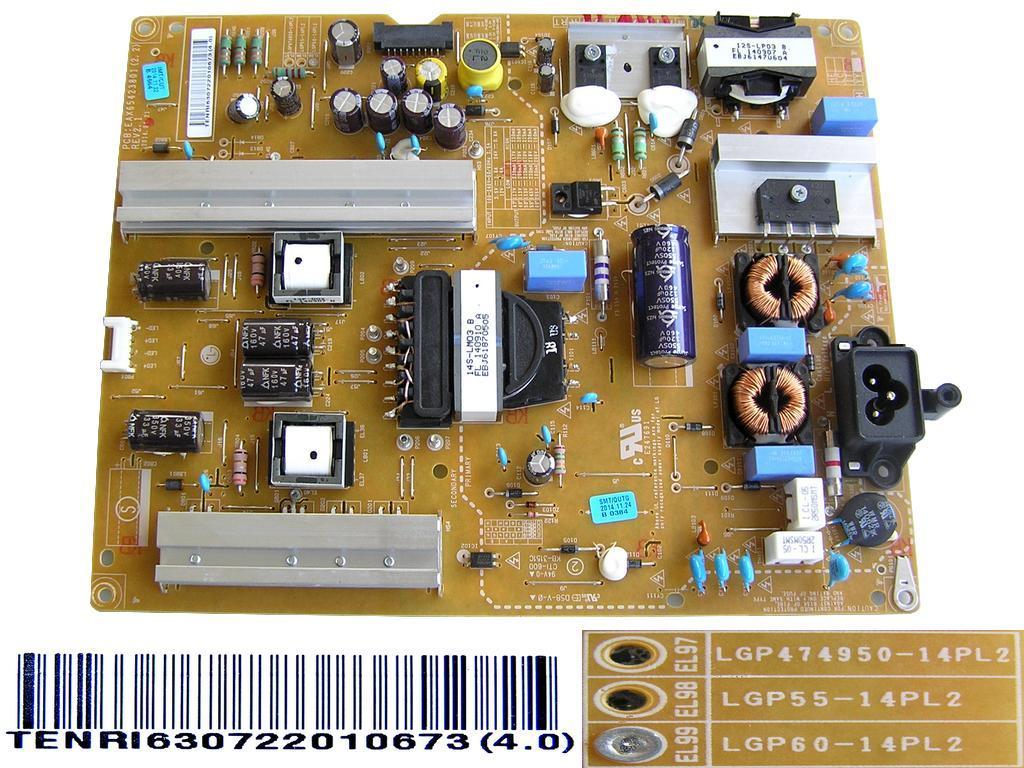 Plazma modul Z-SUS LJ92-01668A + LJ92-01672A / MISC X-MAIN board BN94-03187G + BN94-03187F