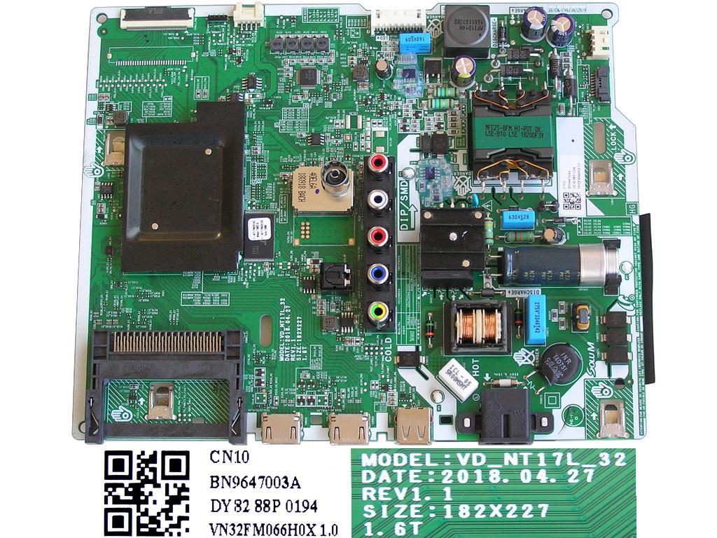 Plazma modul základní deska EBT62921901 / Main board EBT62921901 / EAX65399305