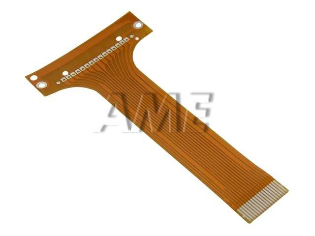 Plochý kabel pro autoradia CLARION 16 pinů délka 83mm 039132801